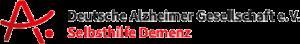 Logo der deutschen Alzheimer Gesellschaft