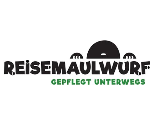 Logo des Reisemaulwurf e.V.